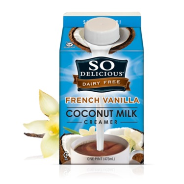 So Delicious Dairy Free French Vanilla Coconut Milk for Coffee