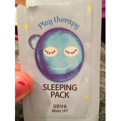 play therapy sleeping pack