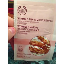 the body shop vitamin e sink in moisture mask