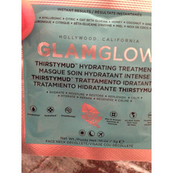 glam glow thirsty mud hydration