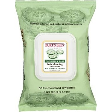 Burt's Bees Cucumber and Sage Facial Cleansing Towelettes