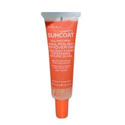 Suncoat All Natural Nail Polish Remover Gel