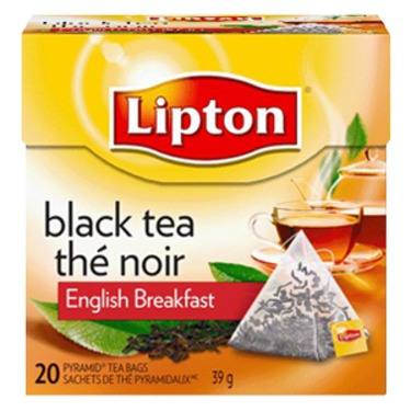 Lipton Black Tea English Breakfast Pyramid Tea Bags
