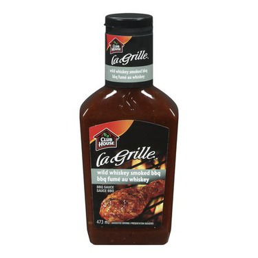 La Grille Wild Whiskey Smoked BBQ Sauce by Club House