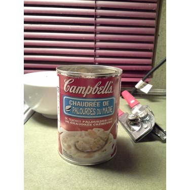 Campbells New England Clam Chowder