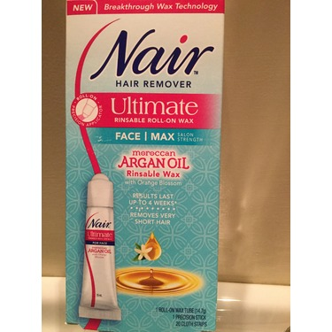 Nair Ultimate Roll On Body Wax Hair Remover With Moroccan Argan Oil Reviews In Removal Advisor