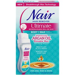 Nair Ultimate Roll-on Body Wax Hair Remover with Moroccan Argan Oil
