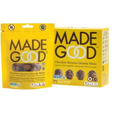 Made Good Chocolate Banana Granola Minis