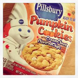 Pillsbury Pumpkin Spice Cookies