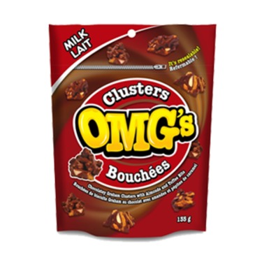 OMG candy clusters