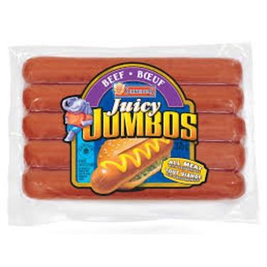 Schneider's Juicy Jumbo Hot Dogs