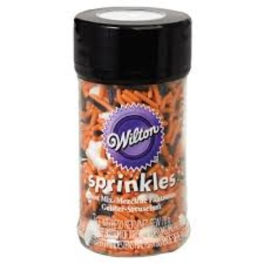 Wilton Halloween Sprinkles with Ghosts