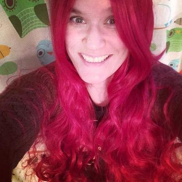 WXBUY Women's Long Hair Heat Resistant Curly Anime Wig