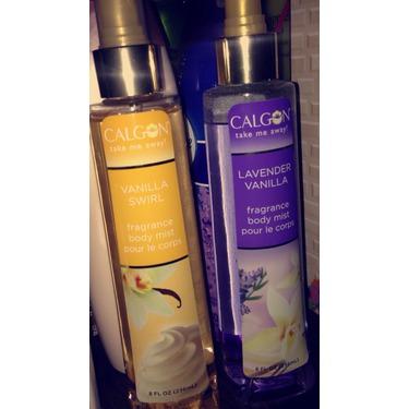 Calgon lavender vanilla body mist