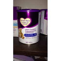 Parents choice iron fortified formula