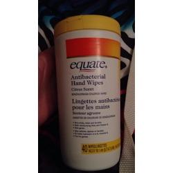 Equate antibacterial hand wipes