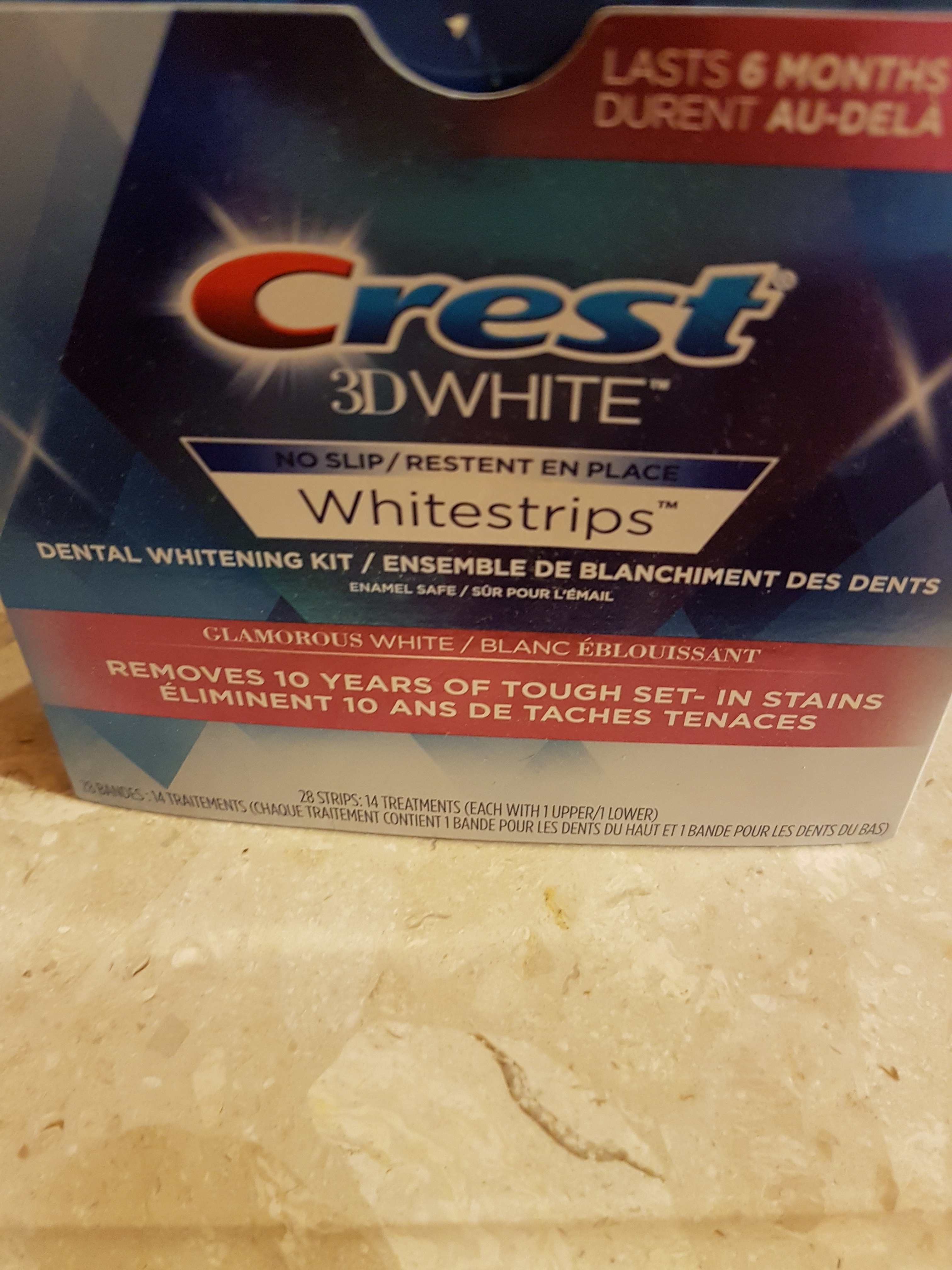 how to use crest white strips
