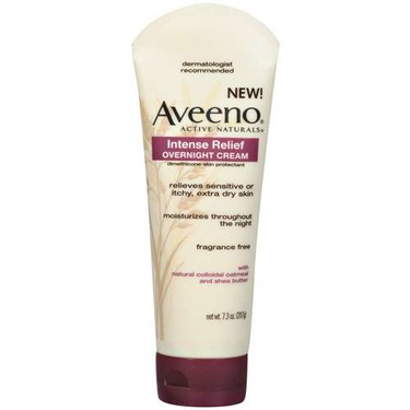 Aveeno Active Naturals Intense Relief Overnight Cream