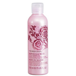 The Body Shop Moroccan Rose Bath and Massage Oil