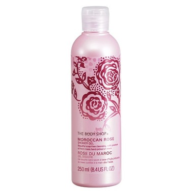 The Body Shop Moroccan Rose Shower Gel