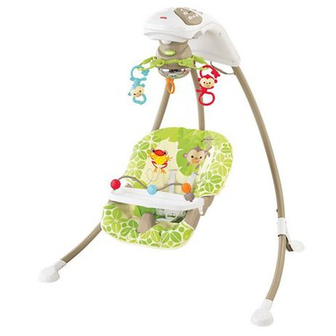 Fisher-Price Cradle 'n Swing Rainforest Friends