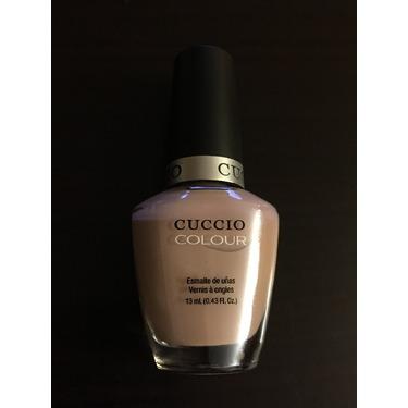 Cuccio nail polish in Bologna Blush