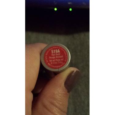 Wet n wild hot red lipstick