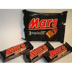 MARS BARS SNACK SIZE