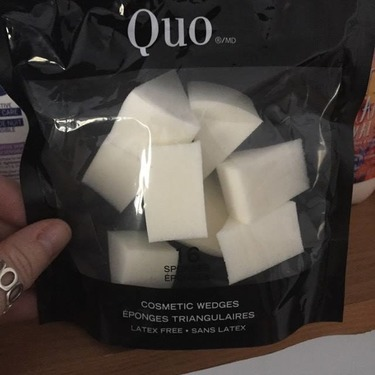 Quo cosmetic wedges reviews in Makeup