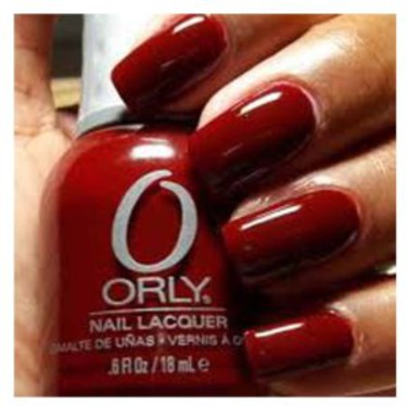 Orly lacquer in Red Flare