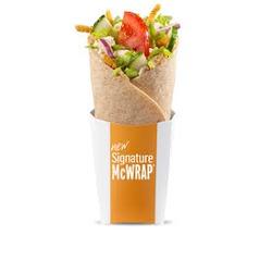 McDonald's Mediterranean Wrap