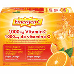 Emergen-C 1000mg Vitamin C Super Orange
