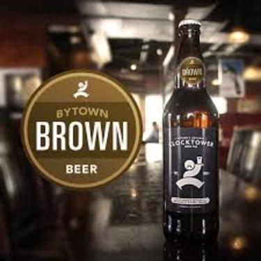 Clocktower Brew Pub Bytown Brown