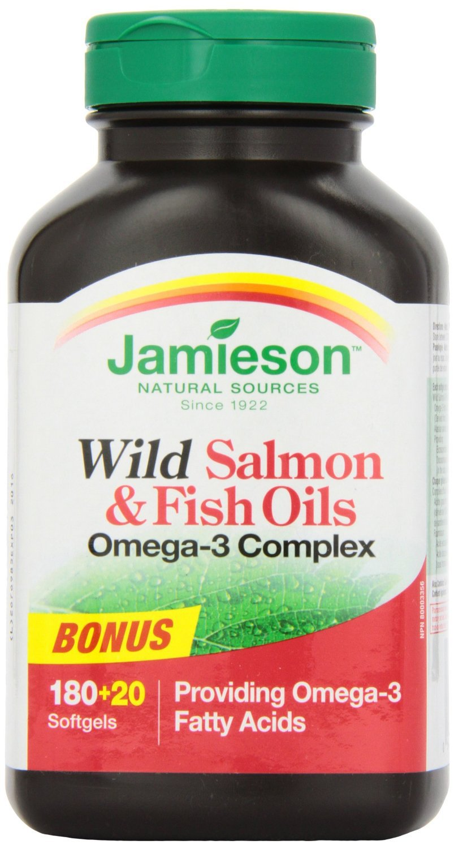 Jamieson Wild Salmon Fish Oils Omega 3 Complex 1 000mg