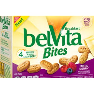Belvita Bites Mixed Berry reviews in
