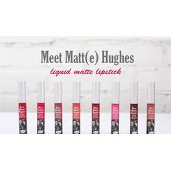 Meet Matt(e) Hughes Liquid Lipstick by theBalm