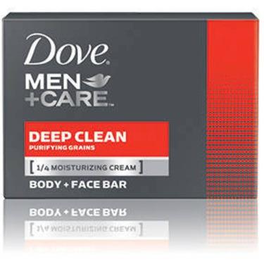 Dove Men +Care Deep Clean Purifying Grains Body & Face Bar