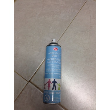 Life Brand anti static spray