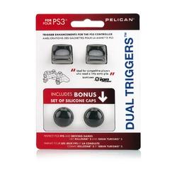 Pelican PS3 Dual Triggers with Bonus Silicone Caps