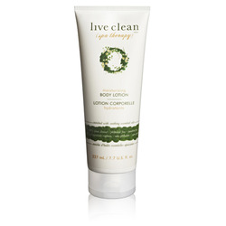 Live Clean Spa Therapy Body Lotion