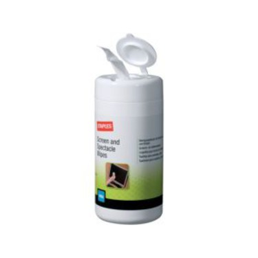 Staples Screen cleaning wipes