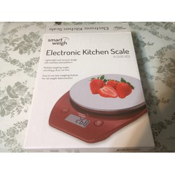 Smart Weigh 11lb/5kg Electronic Multifunction Kitchen and Food Scale, Stainless Steel Platform