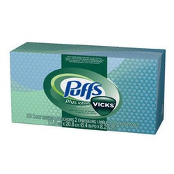 Kleenex with vicks
