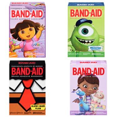 Johnson And Johnson Character Band Aids