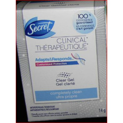 Secret Clinical Antiperspirant Gel