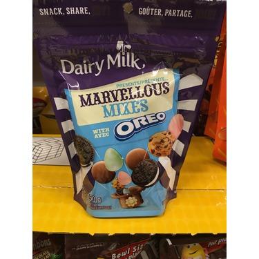 Dairy milk marvelous mixes with Oreo