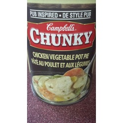 Campbells Chunky Chicken Veg Pot Pie