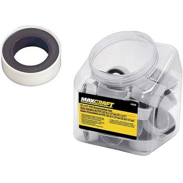 MAXCRAFT 25' x 1/2in PTFE Thread Sealing Tape