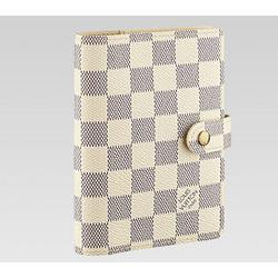 Louis Vuitton Damier Azur Small Ring Agenda LV R20706