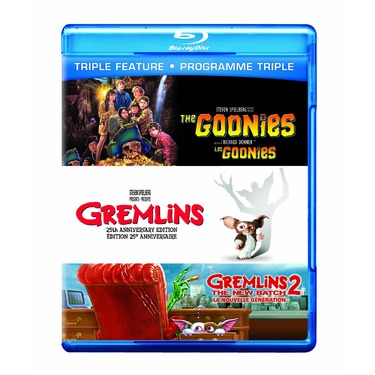 The Goonies/ Gremlins/ Gremlins 2: The New Batch